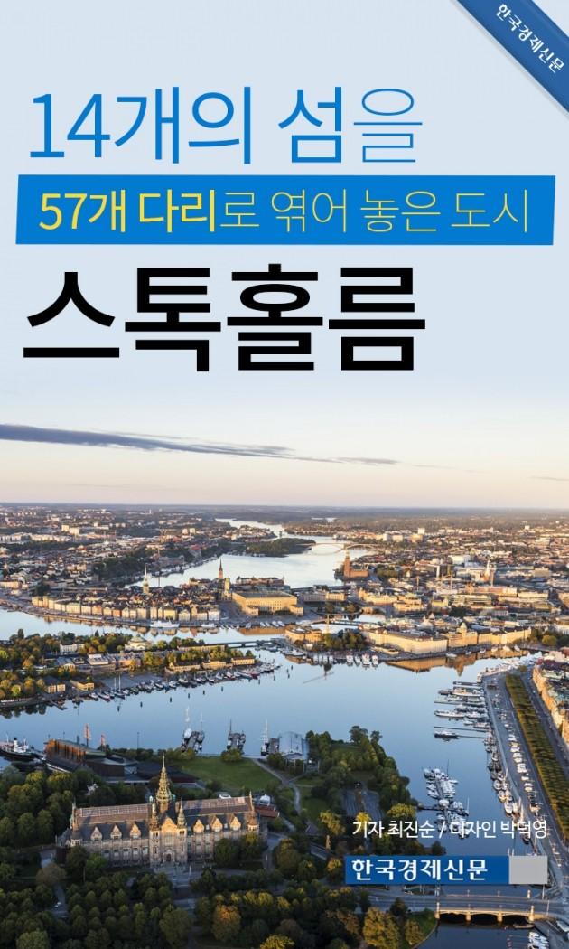(카드뉴스) 14개의 섬을 57개 다리로 엮어 놓은 도시, 스톡홀름