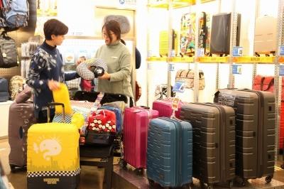 신세계 센텀시티점,여행용품 판매 29% 증가