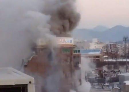 제천 화재 / 온라인 커뮤니티 영상 캡처