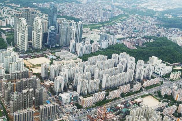 서울 도곡동 아파트 밀집 지역. 한경DB