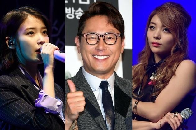 (왼쪽부터) 가수 아이유, 윤종신, 에일리 / 한경DB