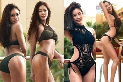 '머슬퀸' 이휘진 몸매는 엉덩이가 '으뜸'