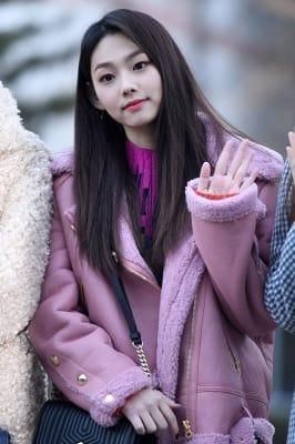 구구단 미나, '물오른 미모~'