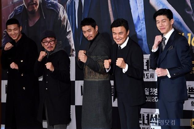 '나쁜 녀석들2' 지수 양익준 주진모 박중훈 김무열 /사진=최혁 기자