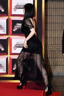 레드벨벳 아이린, '아찔한 뒤태'(KBS 가요대축제)