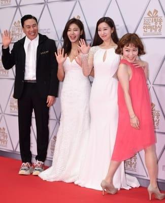 이상민-설인아-이재은-박슬기, '저희도 시상식 왔어요~' (MBC 방송연예대상)