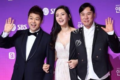 전현무-추자현-이상민, '오늘 사회 맡았어요~'(SBS 연예대상)