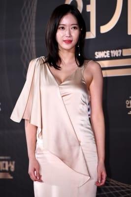 임수향, '글래머러스한 몸매 자랑하며'(KBS 연기대상)