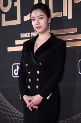 류화영, '반짝반짝 빛나는 피부'(KBS 연기대상)