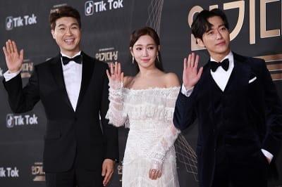 박수홍-이유리-남궁민, '오늘의 사회자입니다~'(KBS 연기대상)