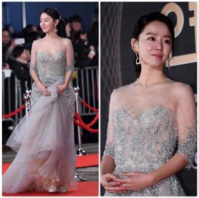신혜선, '황금빛 미모 뽐내며'(KBS 연기대상)