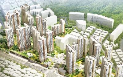 '광명 에코 자이위브' 2104가구 대단지… 광명뉴타운 첫 아파트