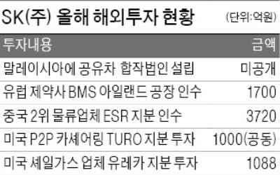 """두달 만에 투자금의 10%를 배당금으로… SK(주) """"유레카"""""""