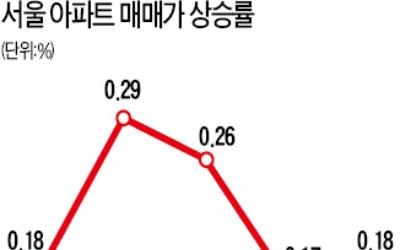 서울 아파트값 상승폭 커져