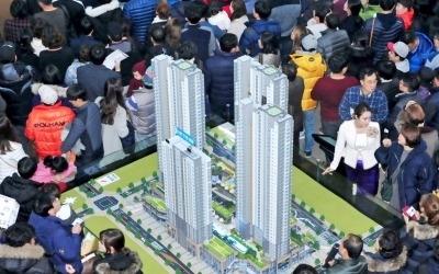 동탄역 파라곤 아파트 1순위 청약 마감… 최고경쟁률 59대 1