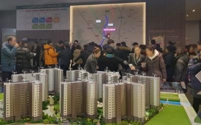 제일건설 '성남 고등지구 제일풍경채'에 주말 2만1000여명 찾아