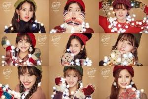 트와이스, '메리&해피' 티저 대방출…크리스마스 분위기 '물씬'