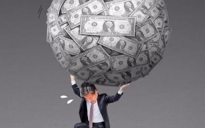 """한국 가계빚 금융위기후 GDP대비 20%p↑… BIS """"경제성장에 악영향"""""""