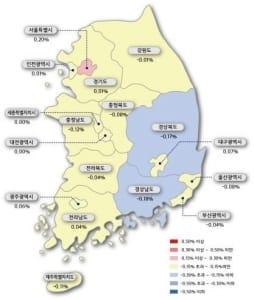 서울 아파트값 상승폭 2주 연속 확대… 지방은 하락 지속
