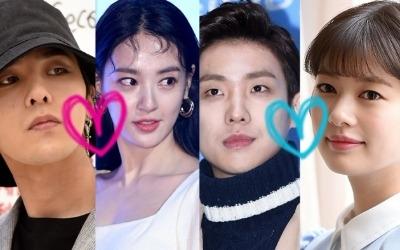 2018 무술년 열애설 주인공은 지드래곤♥이주연, 이준♥정소민