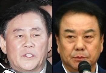 (왼쪽부터)자유한국당 최경환, 이우현 의원.
