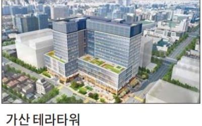 가산 테라타워, 더블 역세권… 수요 많은 지식산업센터