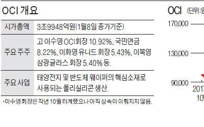 태양광 경기 바닥 찍었나… OCI, 올들어 23% '껑충'