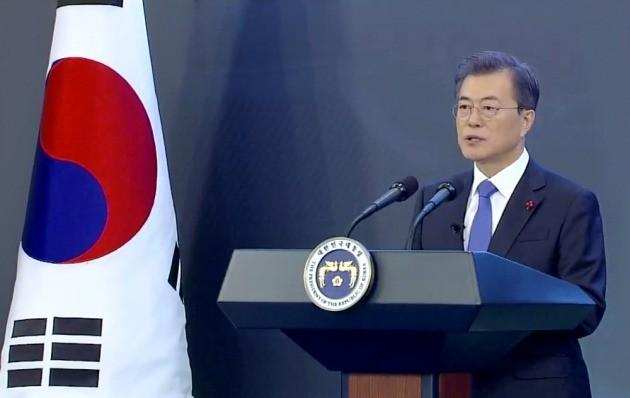문재인 대통령, 신년 기자회견 / KTV