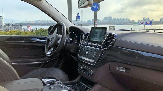 메르세데스벤츠의 스포츠유틸리티차량(SUV)인 GLS 500 4매틱 / 사진=박상재 기자