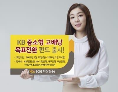 KB운용, KB중소형고배당 목표전환펀드 출시