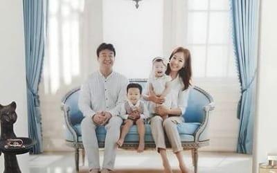 셋째 출산 앞둔 소유진, 가족사진 공개