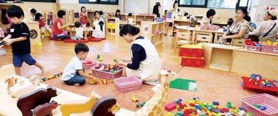 헌재, 어린이집 CCTV 의무설치 합헌 /한경DB