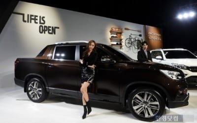 쌍용차, 오픈형 SUV 렉스턴 스포츠 출시