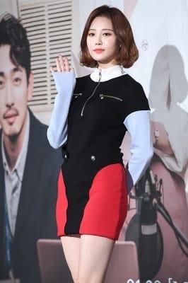 걸스데이 유라, '독특한 원피스 입고~'