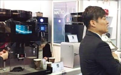 커피머신 '29년 한우물' 동구… IoT 결합머신 들고 CES 참가