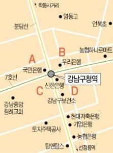 강남구청역 인근 중소형 빌딩 실거래 사례 및 추천매물