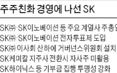 SK그룹 '슈퍼 주총데이' 없앤다