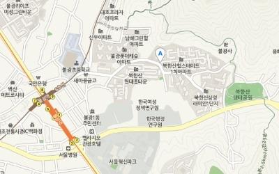 북한산 자락에 아기 키우기 좋은 단지 '북한산 힐스테이트 1차'