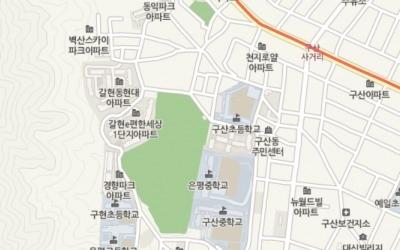 역촌공원 붙어 있는 '갈현 e편한세상', '갈현 현대아파트'