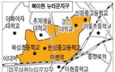 [얼마집] 2·5호선 더블역세권 북아현뉴타운 최고 입지 '북아현2구역'