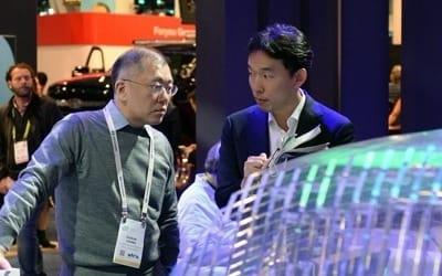 정의선, CES서 자율주행 핵심기업 CEO 잇단 회동