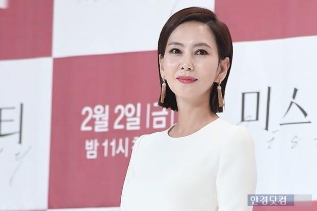 지난달 31일 JTBC 금토드라마 '미스티' 제작발표회에 참석한 김남주. / 사진=변성현 한경닷컴 기자