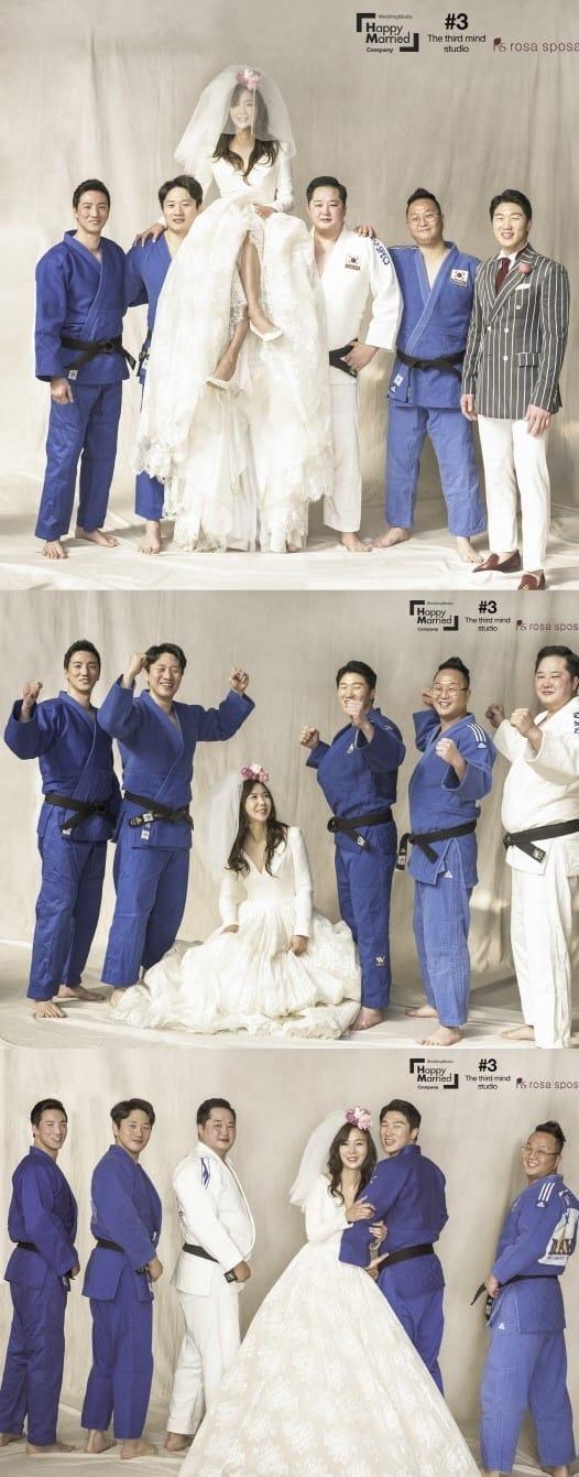 이원희 윤지혜 결혼 /사진=해피메리드컴퍼니, 써드마인드스튜디오, 봉드
