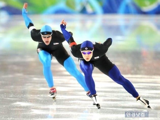 스피드 스케이팅. 사진=평창동계올림픽 공식 홈페이지 캡처