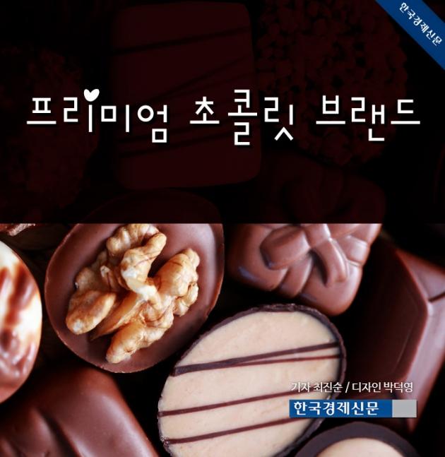 (카드뉴스) 프리미엄 초콜릿 브랜드