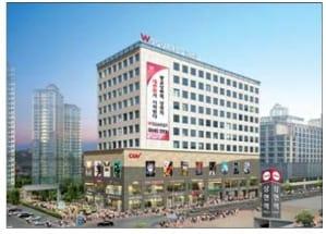 광교 W스퀘어, CGV 입주… 광교 로데오 '알짜 상가'