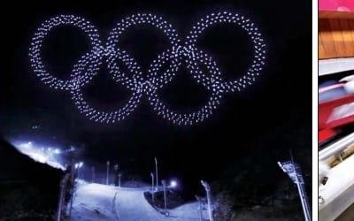 VR 체험·5G 중계·드론쇼… 평창은 세계 최대 '하이테크 올림픽'