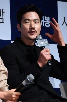 김강우, '아내를 살해한 남편 역 맡았어요'