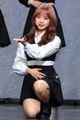 위키미키 최유정, '오늘은 조신하게~'