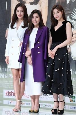 왕빛나-최명길-박하나, '품위 있는 미녀들'